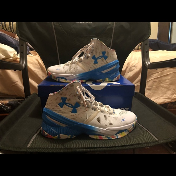 Under Armour Shoes Curry 2 Birthday Cake Poshmark